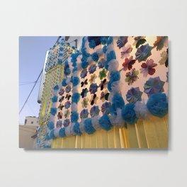 Japan Tanabata Matsuri Street Festival Metal Print