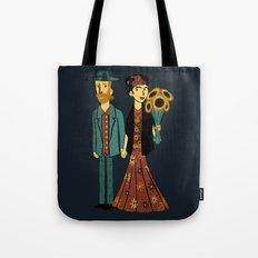 Love is Art Frida Kahlo and Van Gogh Tote Bag