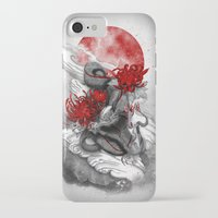 dragon iPhone & iPod Cases featuring Dragon by Marine Loup