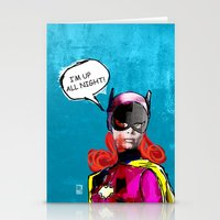 batgirl Stationery Cards featuring Batgirl by Ed Pires