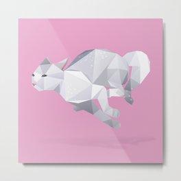 Exotic Shorthair Cat. Metal Print