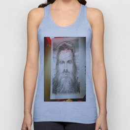 Self-Portrait, Admitted, Crucified at Customs. July 20, 2015 Unisex Tank Top