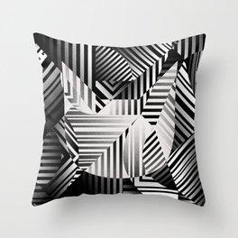 Dazzle cat Throw Pillow