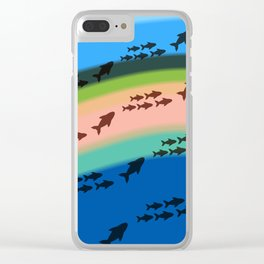 Island Swimmers Clear iPhone Case
