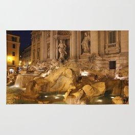 Trevi Fountain - Rome, Italy Rug