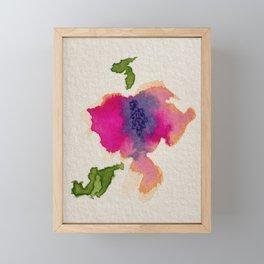 Abstract Flower Framed Mini Art Print