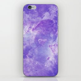 Violet galaxy iPhone Skin