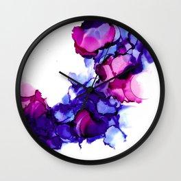 Wild Plum Wall Clock
