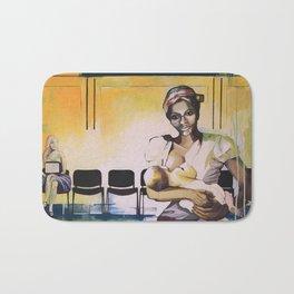 Les demoiselles avec un enfant Bath Mat