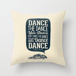 Platypus The Wise Throw Pillow