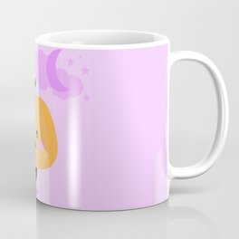 Halloween pumpkin in witch costume Coffee Mug
