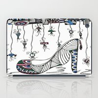 shoe iPad Cases featuring Shoe by Kimberly McGuiness