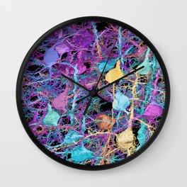 Cortical Brain Neurons by Kfay Wall Clock
