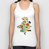 bar Tank Tops featuring bar by Alevan