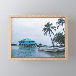Island Retreat Framed Mini Art Print