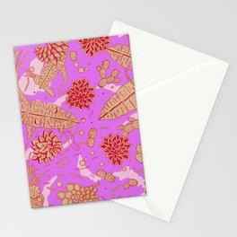 Warm Flower Stationery Cards