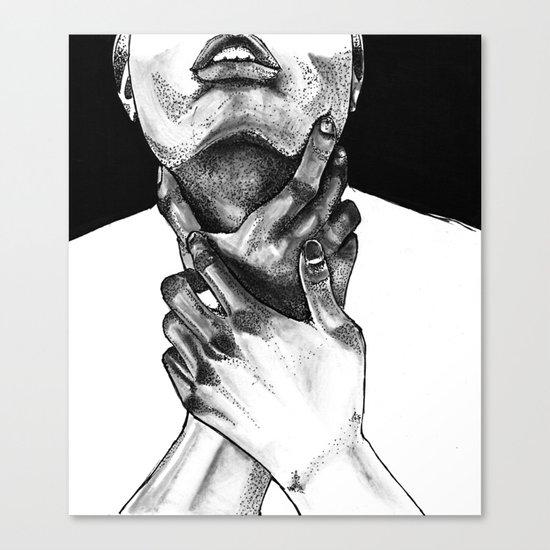 Lost in Monochrome Canvas Print