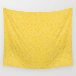 Solar Flare Molten Gold Abstract Wall Tapestry