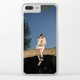 Mowgli Clear iPhone Case
