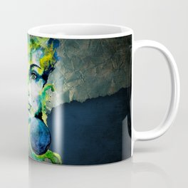 Esther Green (Set) by carographic watercolor portrait Coffee Mug