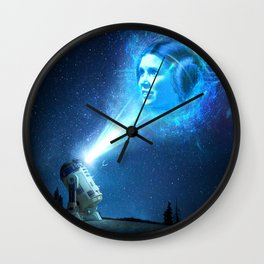 Our Lady of Stars Wall Clock