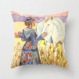 Arlésinne biS Throw Pillow
