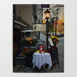 A Little bit of Paris in NYC Poster