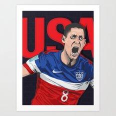 USA World Cup 2014 Art Print