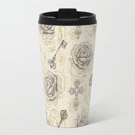 Roses & keys Travel Mug