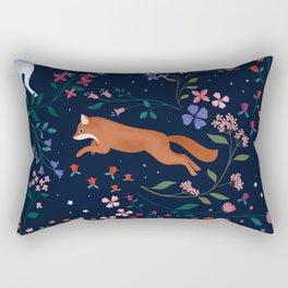 Folk Forest Rectangular Pillow
