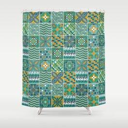 Azulejo Shower Curtain