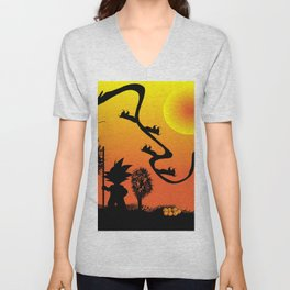 dragon ball Unisex V-Neck