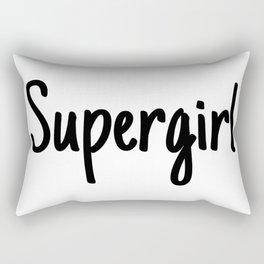 Supergirl Rectangular Pillow
