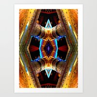 bar Art Prints featuring Bar by ijo.