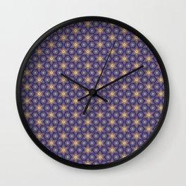 Wallpaper for children seamless background pattern Wall Clock