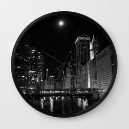 Downtown Chicago Wall Clock