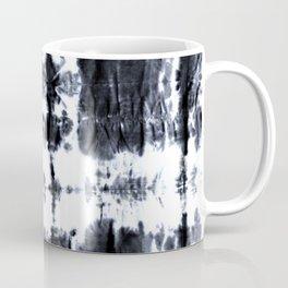 Boho BW Stitch Shibori Coffee Mug