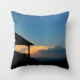 Sweet Silhouette * Little Switzerland  Throw Pillow