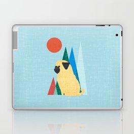 Waiting for you Pug Laptop & iPad Skin