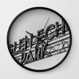 Golden Age Relic Wall Clock