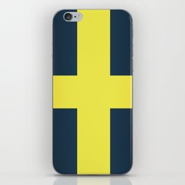 Flag of Saint David Of Wales iPhone Skin