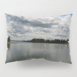 Yellowstone Lake View Pillow Sham