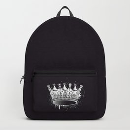 Crown in graffiti style Backpack