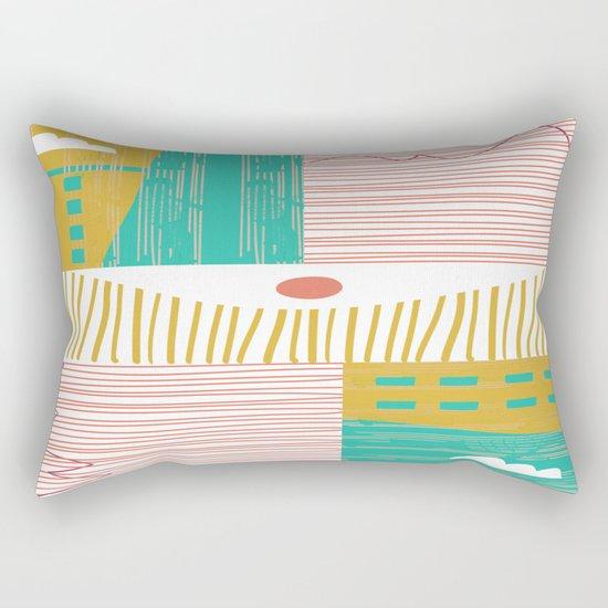 Eye On The City Rectangular Pillow