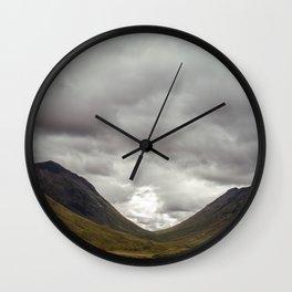 Scottish Valley Wall Clock