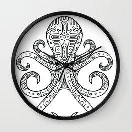 Mandarin Dragonet Octopus Wall Clock