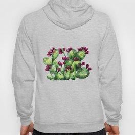 Prickly, Prickly Pear Cactus Hoody