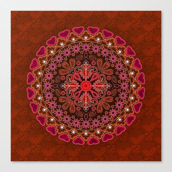 Mandala. Canvas Print