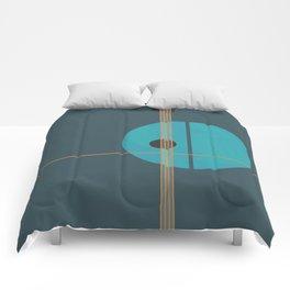 Geometric Abstract Art #4 Comforters
