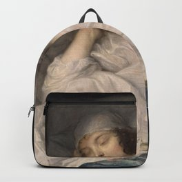Anthony van Dyck - Venetia, Lady Digby, on her Deathbed Backpack